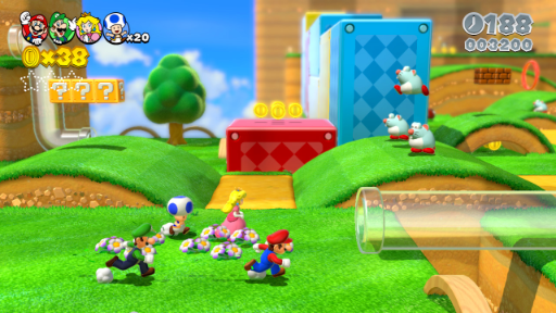 Super Mario Replay: Super Mario World 3D World | Skociomatic