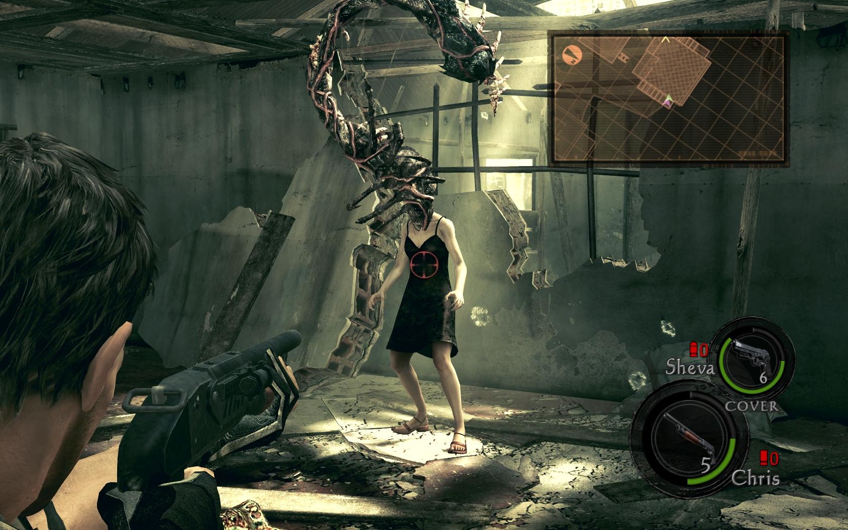Hasil gambar untuk resident evil 5 gameplay