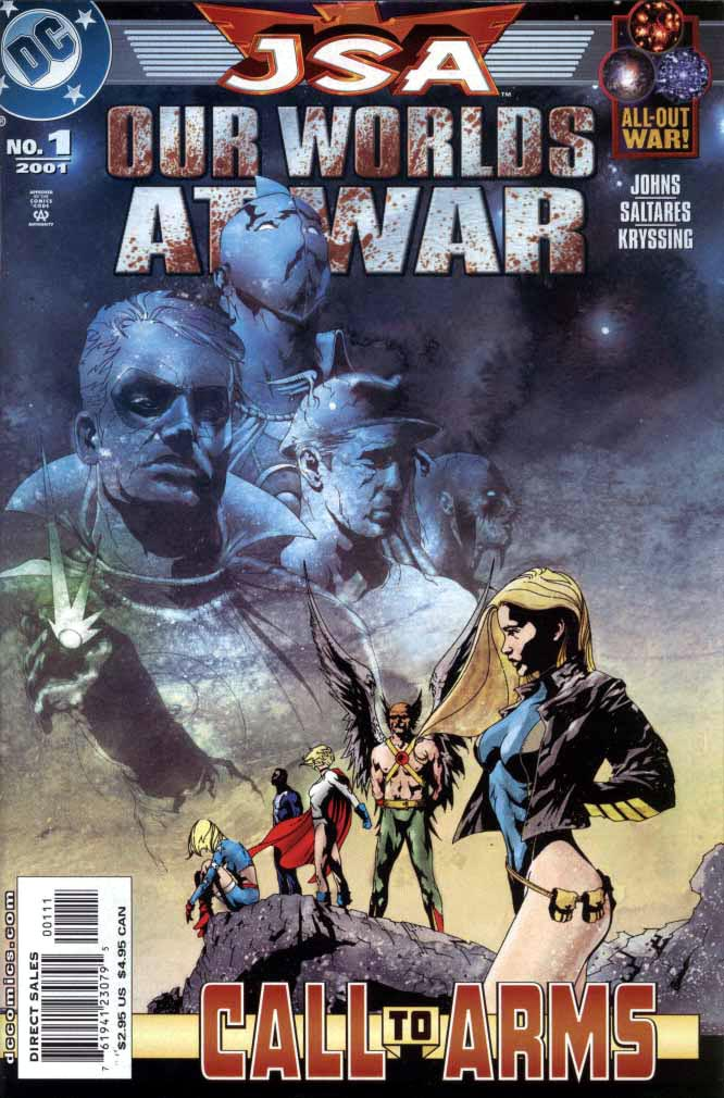 JSA Our Worlds at War 01