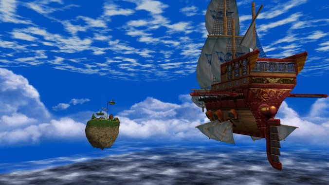 Skies of Arcadia's wild blue yonder
