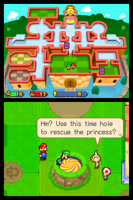 mario and luigi partners in time remake