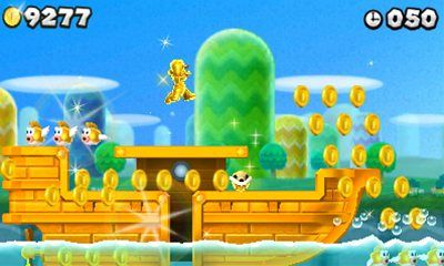 Super Mario Replay: New Super Mario Bros 2   Skociomatic
